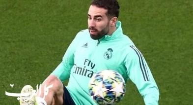 داني كارفاخال يزف بشرى سارة لريال مدريد قبل أسبوع