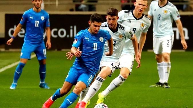 تعادل منتخب إسرائيل أمام أسكتلندا بهدف لكل منهما