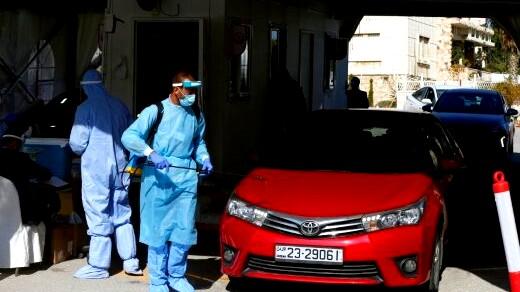 97 وفاة و7940 إصابة كورونا جديدة اليوم في الاردن
