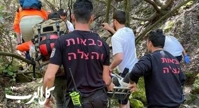 تخليص مصابين خلال نزهات بمنطقة حيفا