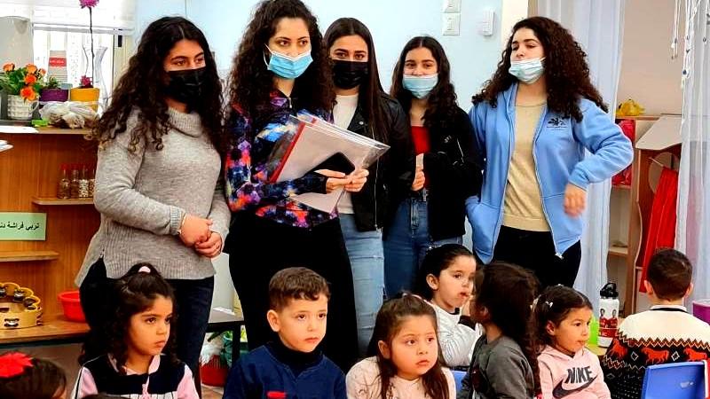 مشروع جماعي لطلاب ثانوية الشاغور -مجد الكروم