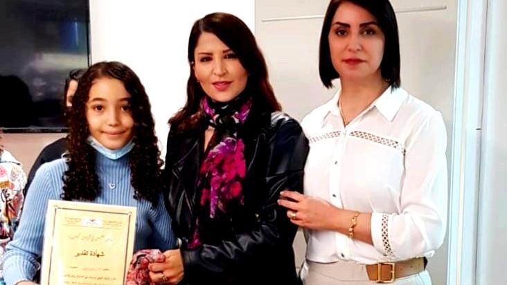 توزيع شهادات لتقدير في مسابقة القراءة في دير الاسد