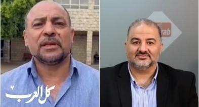 النائب غنايم يغادر مجموعة الواتس اب بعد خطاب عباس