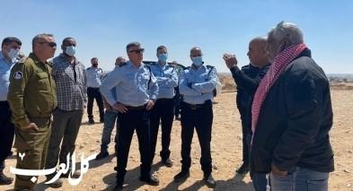 لقاء متوتر مع أهالي بئر هدّاج  تعاون بين الشرطة والجيش