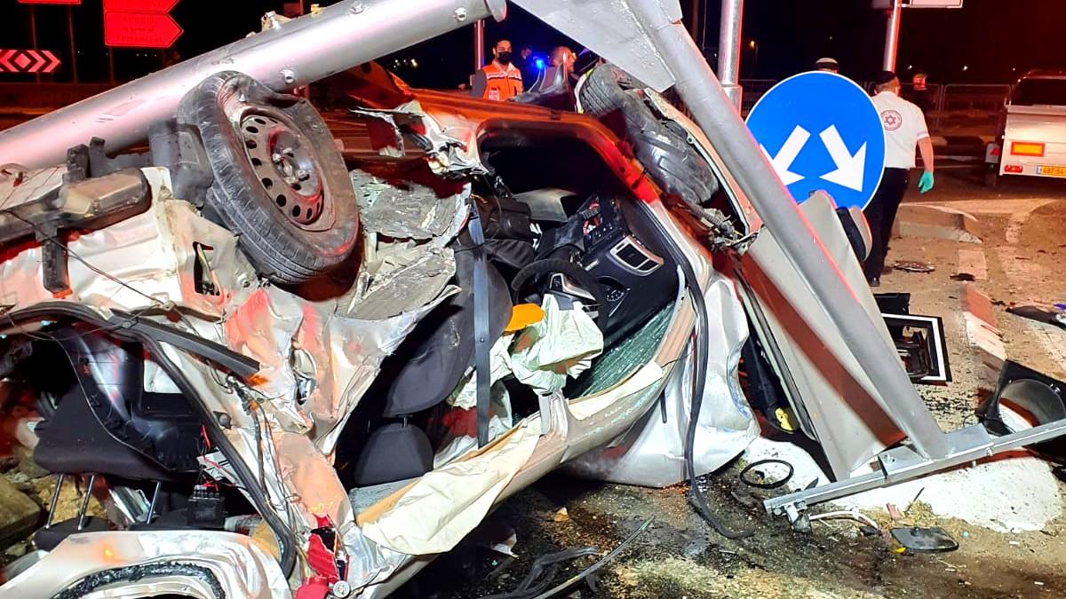 الجنوب: 4 اصابات بين خطيرة ومتوسطة في حادث طرق