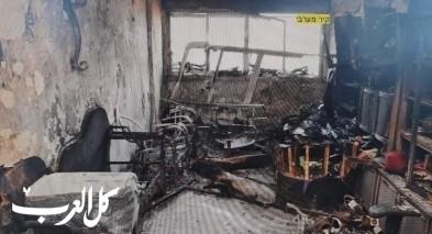 مشتبه من شفاعمرو أضرم النار بشقة صديقته