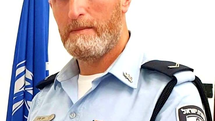 الرقيب حسن فرج متحدثًا لشرطة لواء الشمال