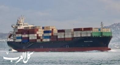 هجوم صاروخي على سفينة إيرانية في البحر الأحمر