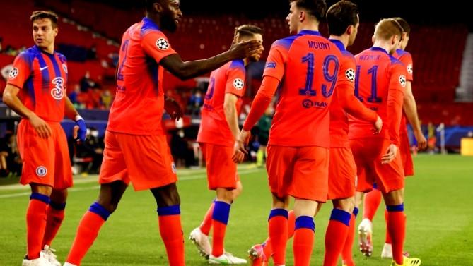 تشيلسي يضع قدما في نصف نهائي دوري أبطال أوروبا