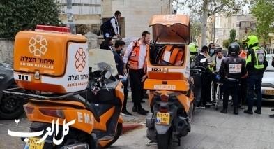 إصابة متوسطة إثر حادث في بلدة البقيعة
