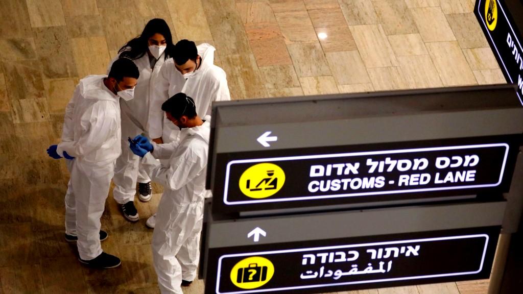 إنشاء مجمع فحوصات كورونا خارج المطار