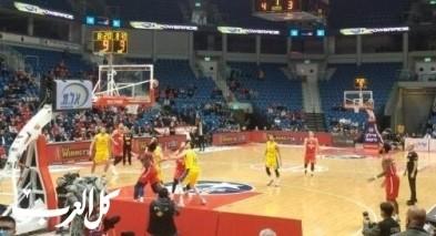 كرة السلة : المتصدر مكابي تل ابيب يهزم هبوعيل القدس