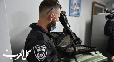 ضبط أسلحة خلال تفتيش في كابول وطمرة