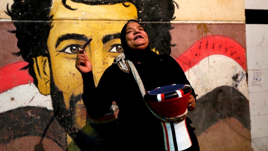 الحاجة دلال أشهر مسحراتية في مصر