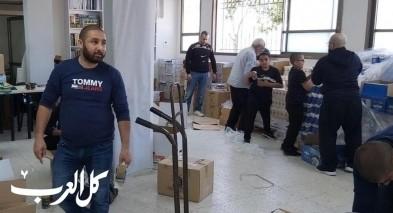 يافا: الزكاة تستعد لتوزيع طرود غذائية
