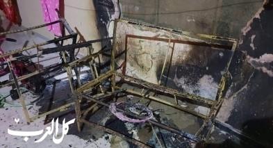 عائلة من قلنسوة: منطاد صغير تسبب بحرق شرفة منزلنا
