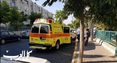 نوف هجاليل: إصابة شابين إثر حادث طرق