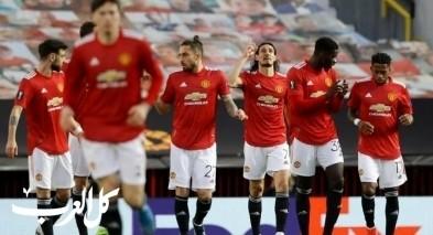 مانشستر يونايتد يعبر غرناطة ويتأهل لنصف النهائي