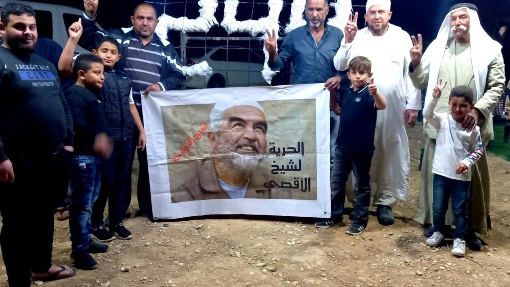 العراقيب توقد شعلة الحرية للشيخ صلاح
