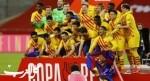 برشلونة يتوج بكأس ملك إسبانيا بعد اكتساح بيلباو برباعية