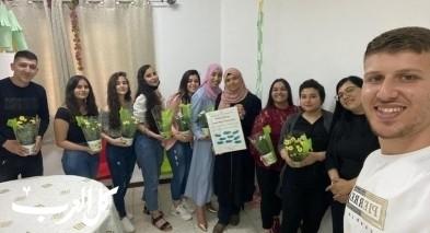 مجد الكروم: القيادة الشبابية بزيارة تهنئة الى معهد الانوار