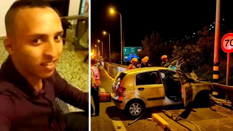 مصرع الشاب هيثم ابو حامد من جسر الزرقاء واصابة اخرين