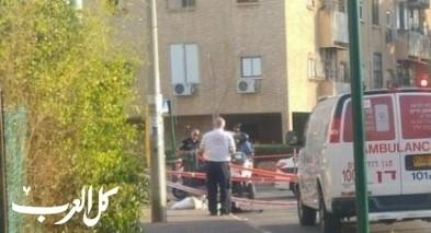 العفولة: إصابة رجل جراء اصطدام سيارته بجدار
