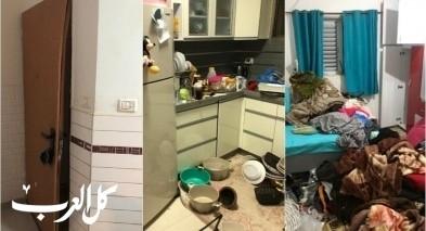 عائلة من تل السبع: الشرطة خرّبت منزلنا