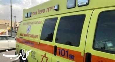 إصابة رجل بجراح خطيرة بحادث في تل أبيب