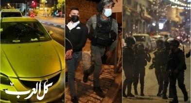 القدس تنزف  اعتداءات على السكّان العرب