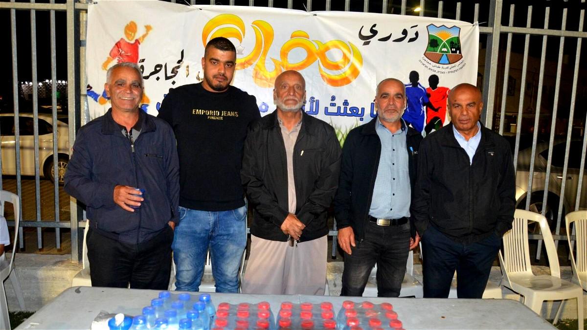 افتتاح الدوري الرمضاني الأول في عرب الحجاجرة