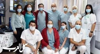 بئر السبع: إغلاق وحدة العلاج المكثف لمرضى كورونا بسوروكا