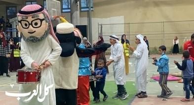 أطفال ونساء ورجال كسيفة يحتفلون بليالي رمضان