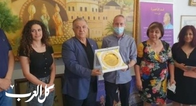 وزير الثقافة والرياضة يزور الناصرة