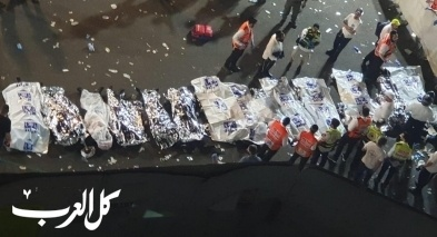 عشرات القتلى ومئات الجرحى في ميرون