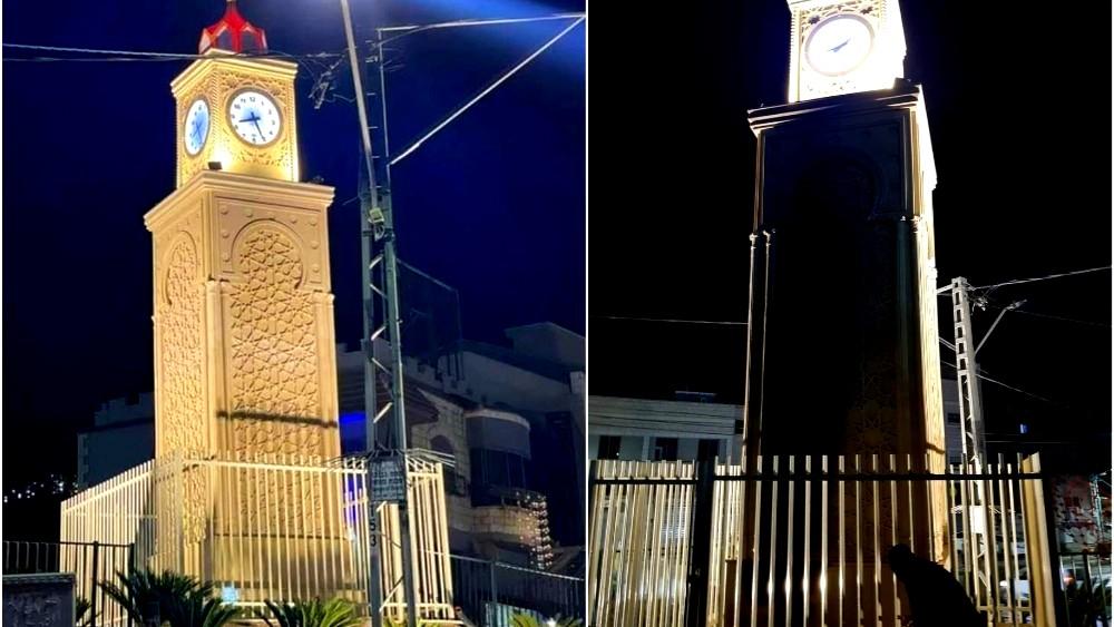 كفركنا: غضب بعد إحراق برج الساعة