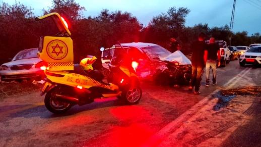 مصرع شاب واصابة اخرين بحادث طرق على شارع 446