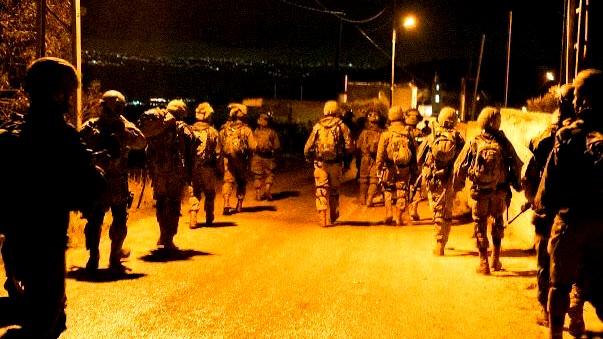 الجيش الإسرائيلي يقتحم بلدات في الضفة