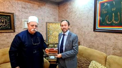 الشّيخ طريف يلتقي سفير الاتّحاد الأوروبيّ