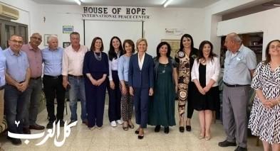 سفيرة فنلندا في زيارة رسمية الى شفاعمرو