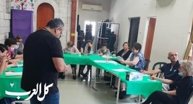 الرملة  افتتاح نادي رواد البلد في الكنيسة الانجيلية