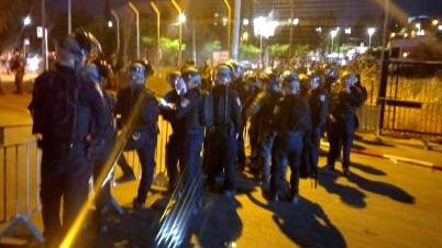 الشيخ جراح| الشرطة تقمع مظاهرة غاضبة