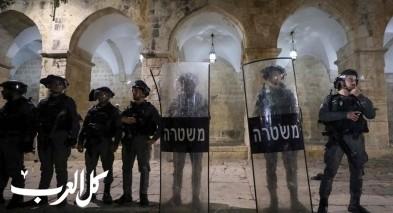 شرطة اسرائيل تتأهب لليلة القدر في القدس
