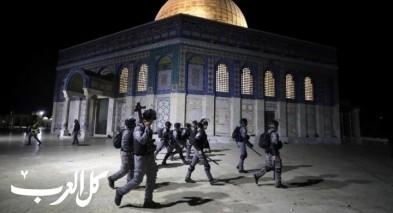 القدس: قوات الشرطة تنسحب من الأقصى