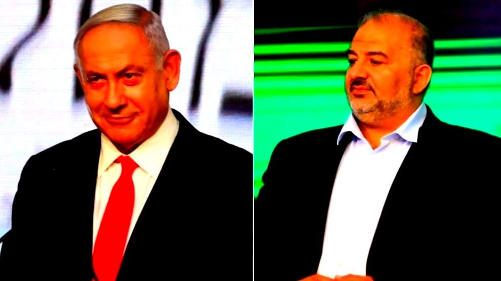 مصادر عبرية: نتنياهو التقى منصور عباس