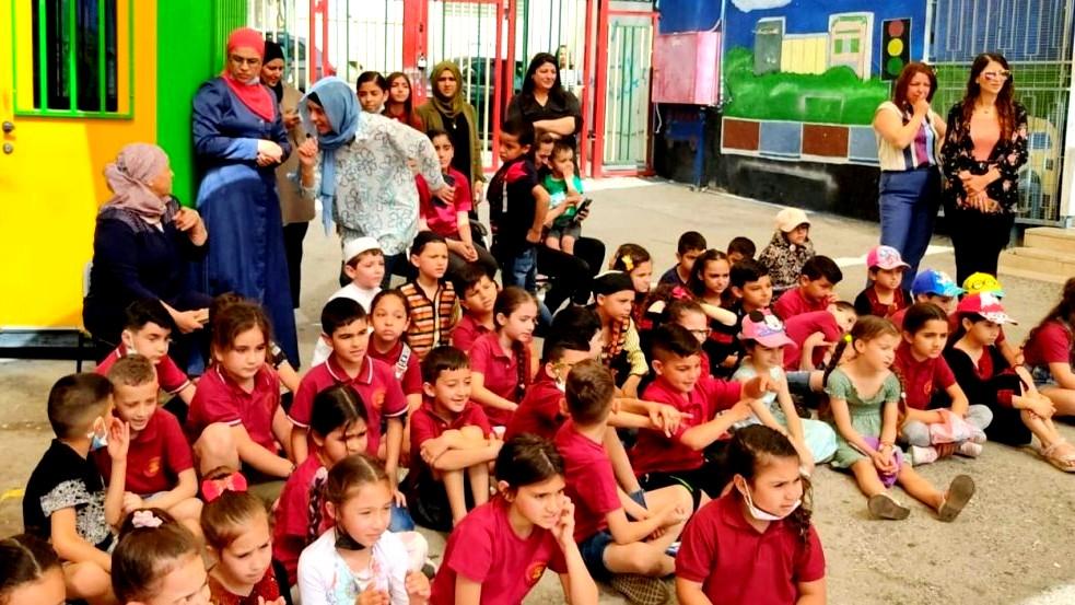 دير الاسد: فعاليات عيد الفطر السعيد في مدرسة عبد العزيز أمون