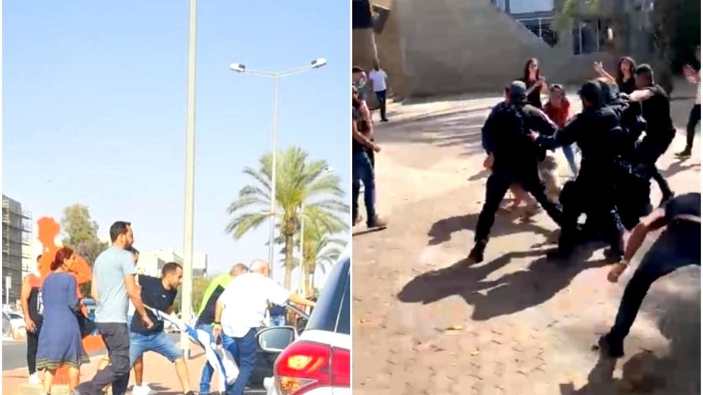 بئر السبع: متطرفون يهاجمون طلاب عرب