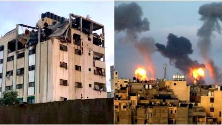 24 شهيدًا بقصف إسرائيلي على غزّة