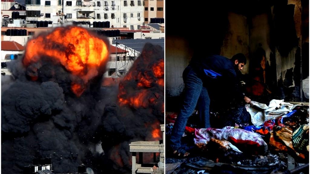 غزة تحت القصف | 139 شهيدًا منذ بداية العدوان