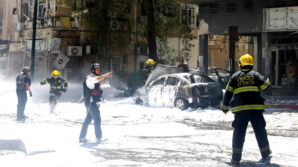 قتيل جراء سقوط صاروخ في رمات جان